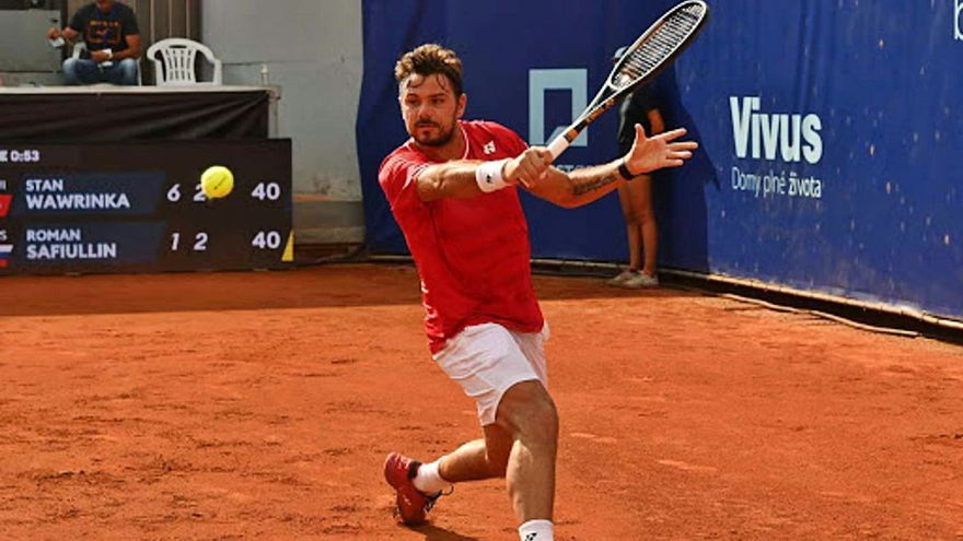 El suizo Stan Wawrinka jugará en Marbella el Andalucía Open 2021