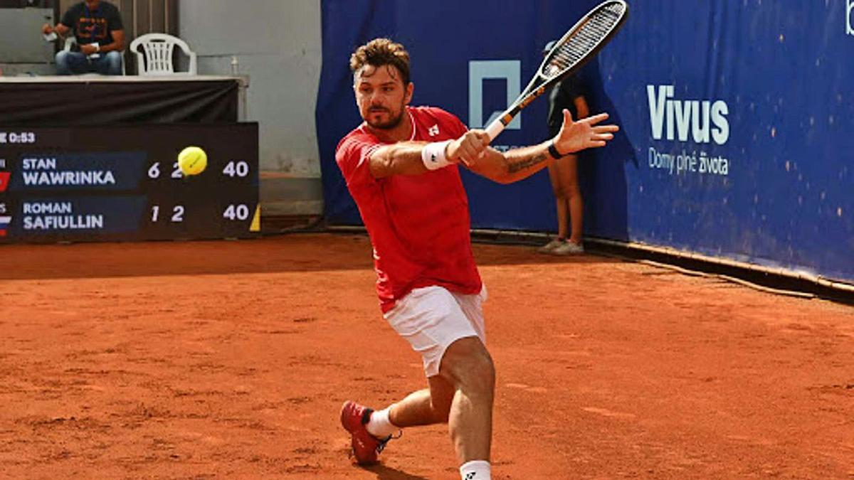 Stan Wawrinka estará en abril en Marbella para jugar el Andalucía Open de Tenis.