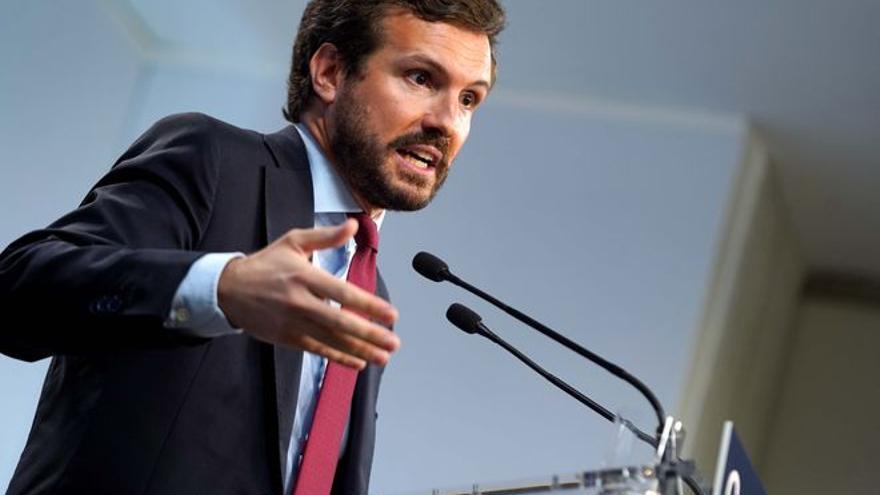 Crece la tensión entre PSOE y PP por el CGPJ y Casado pide la dimisión de Bolaños