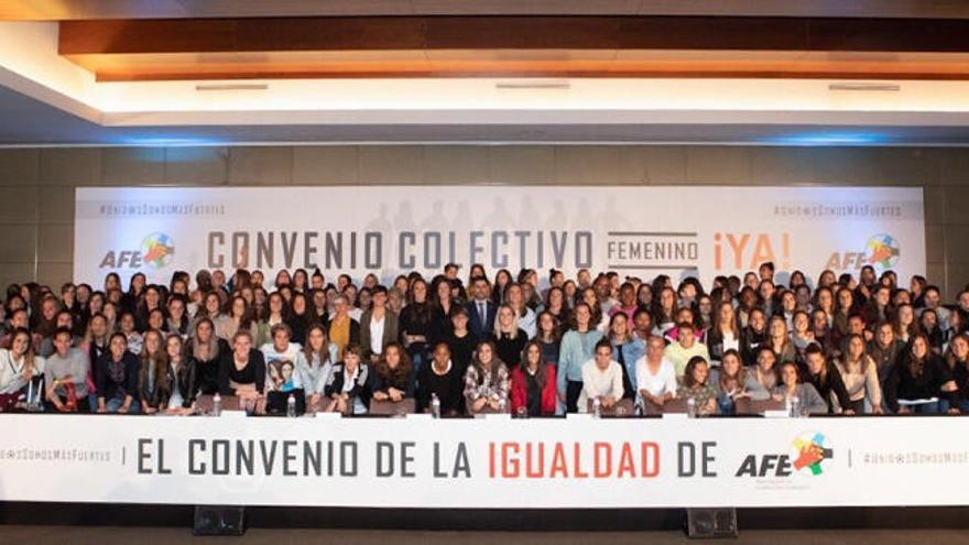 Se desbloquea la huelga del fútbol femenino español