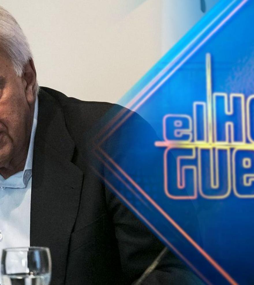 Felipe González visitará 'El hormiguero' por primera vez la próxima semana