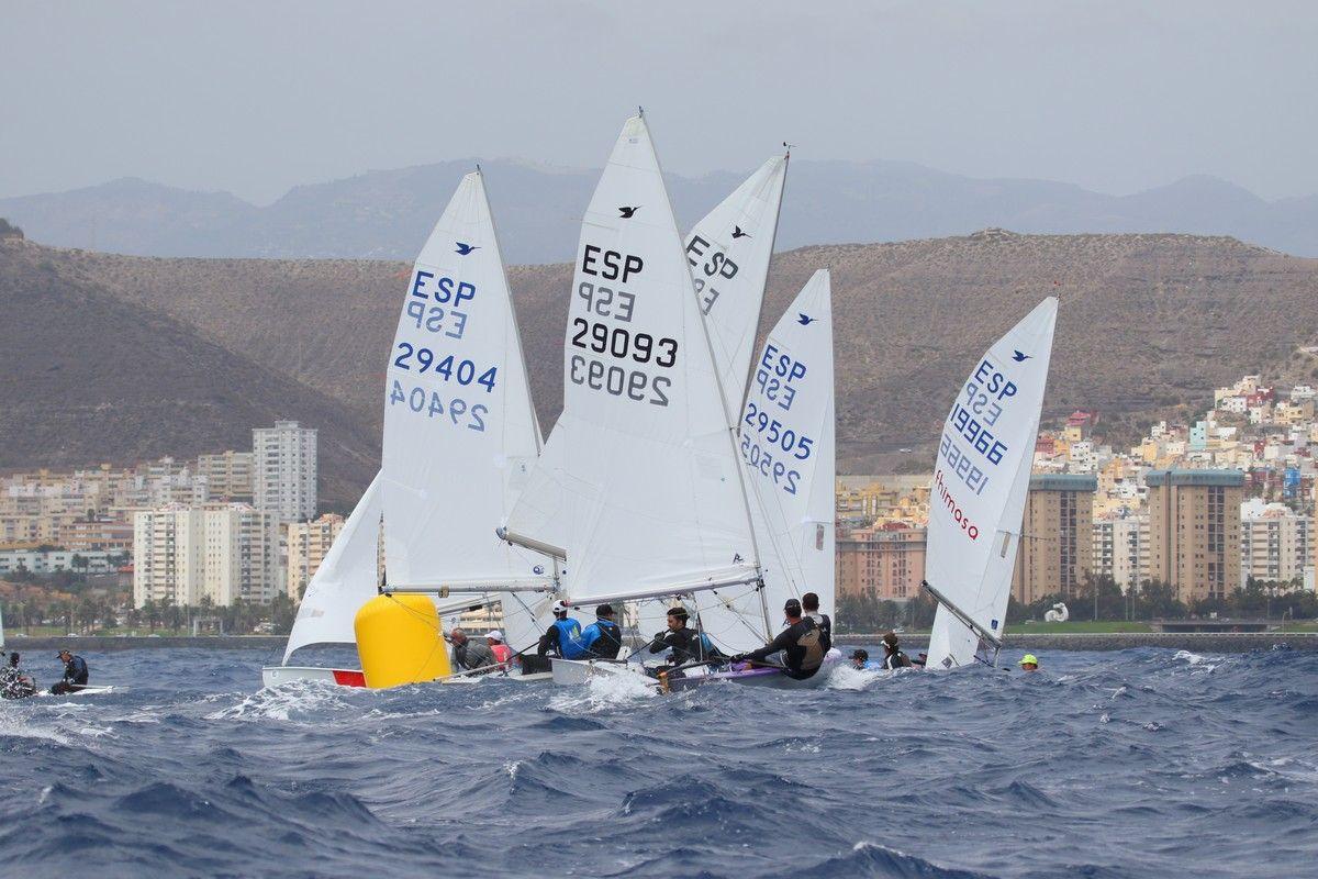 Los regatistas Gustavo y Rafael del Castillo revalidan el título de campeones de España de snipe