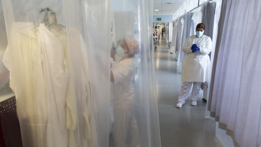 Continua la baixada d'ingressats per Covid-19 a l'Hospital de Figueres