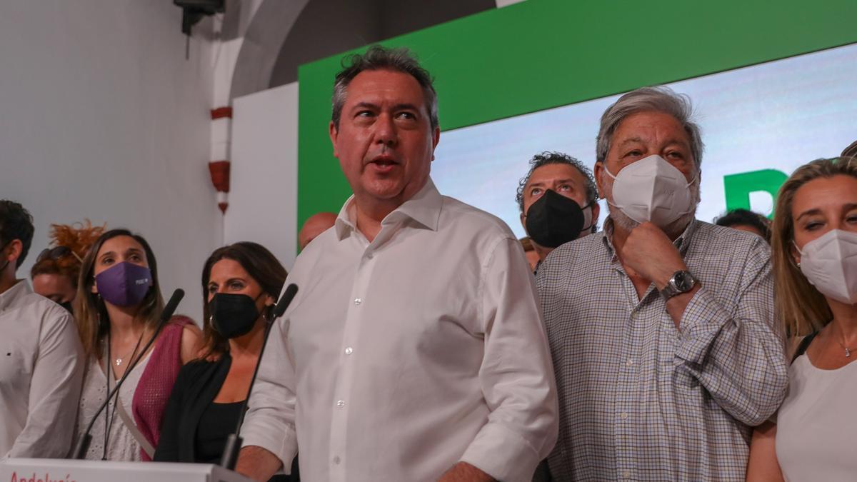 El alcalde de Sevilla, Juan Espadas, ganador de las primarias del PSOE-A.