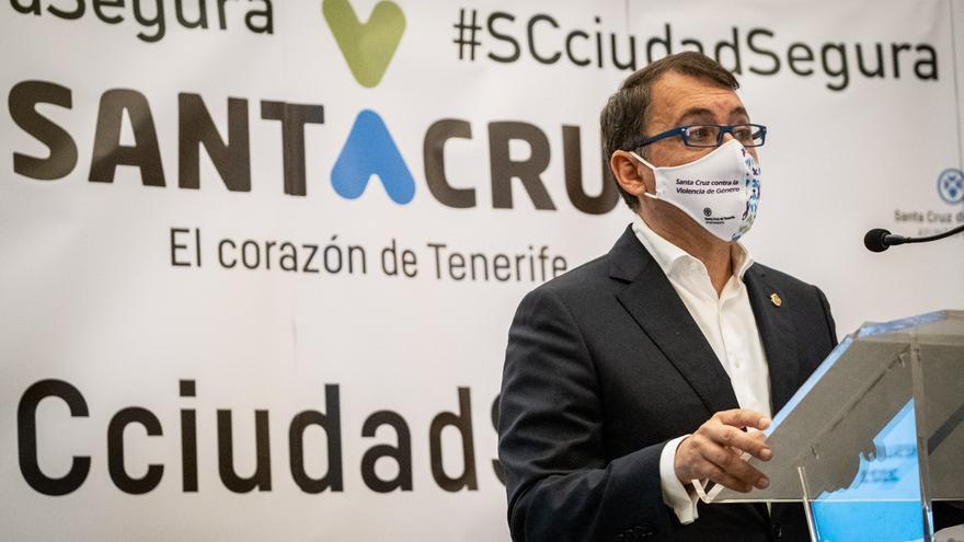 José Manuel Bermúdez, alcalde de Santa Cruz de Tenerife, presenta los presupuestos para 2021