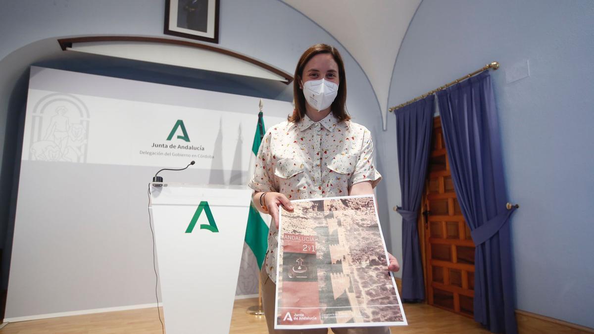 Cristina Casanueva presenta las 10 actividades arqueológicas que acogerá Córdoba.
