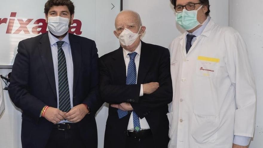 El doctor Ricardo Robles, coordinador regional de trasplantes, elegido presidente de la Asociación Quirúrgica Europea
