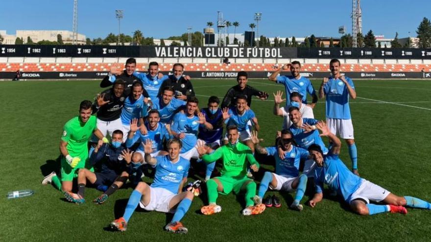 La UD Ibiza destroza al Valencia-Mestalla y amplía su racha