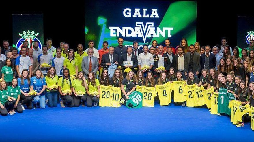 El Villarreal invierte 790.000 euros en ayudas a clubs y deportistas