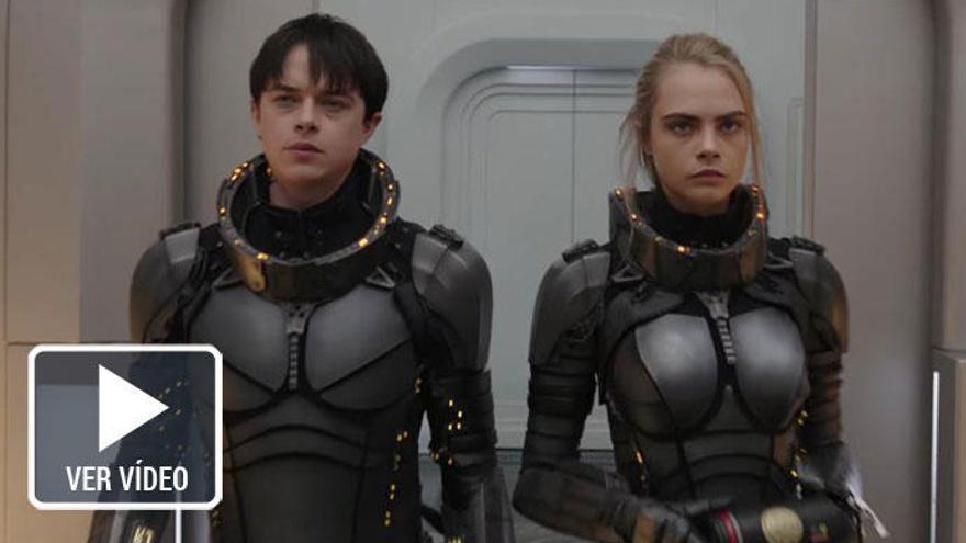 Cara Delevingne surca la galaxia de Besson en 'Valerian'