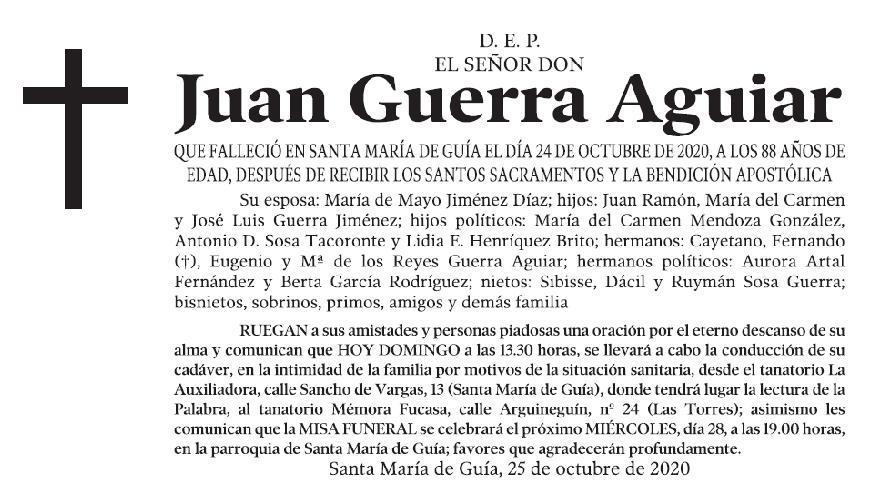 Juan Guerra Aguiar