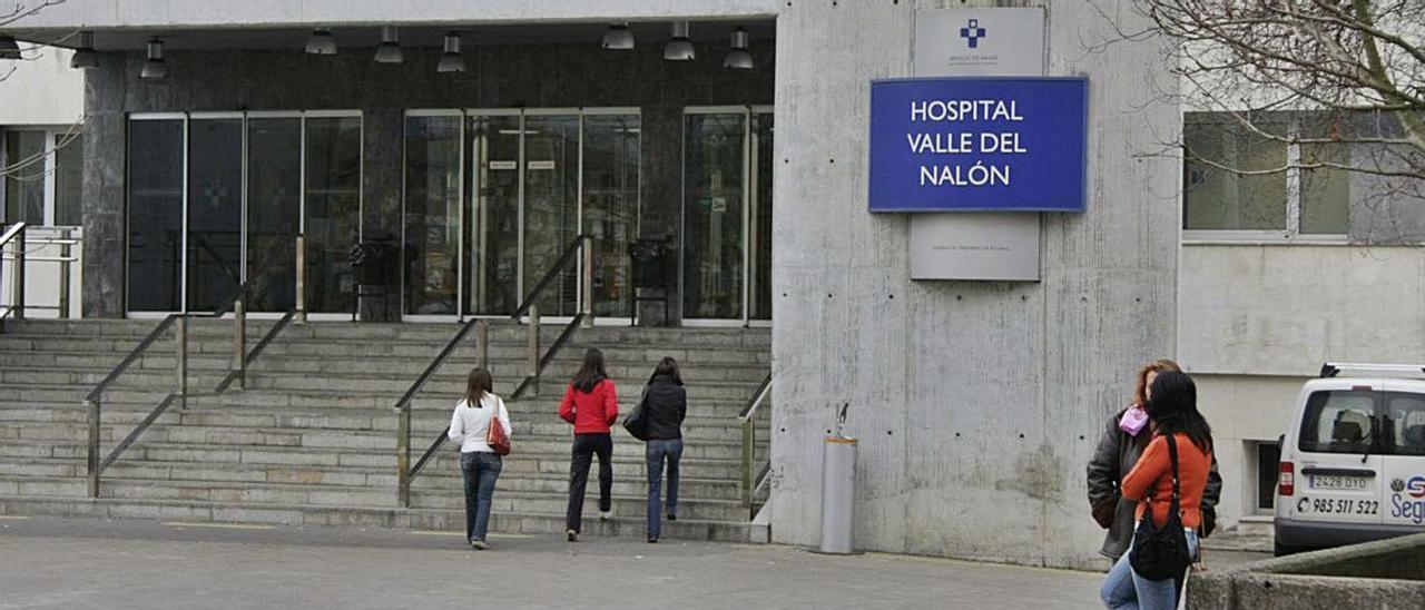 El Hospital Valle del Nalón, donde tuvieron lugar los hechos, en una imagen de archivo.