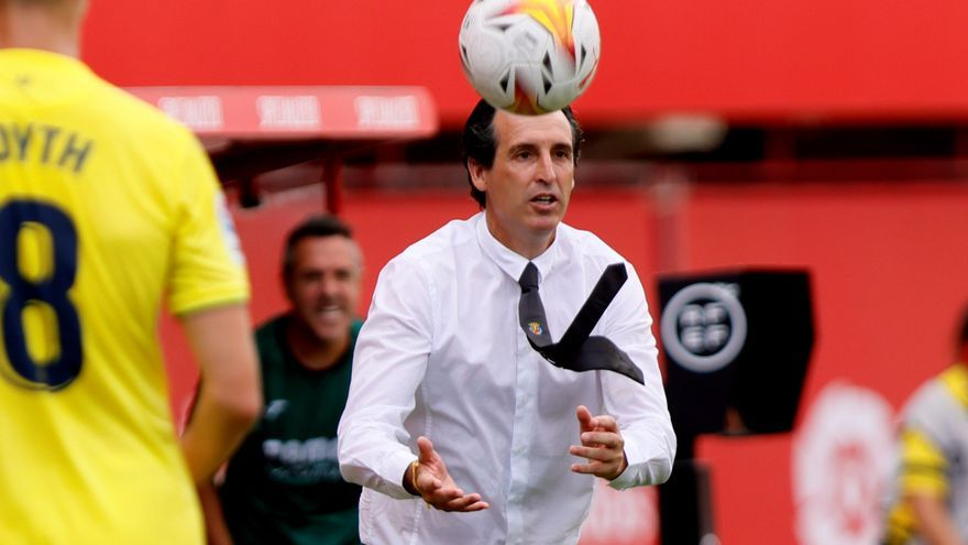 Unai Emery confirma la baja de Gerard Moreno ante el Elche