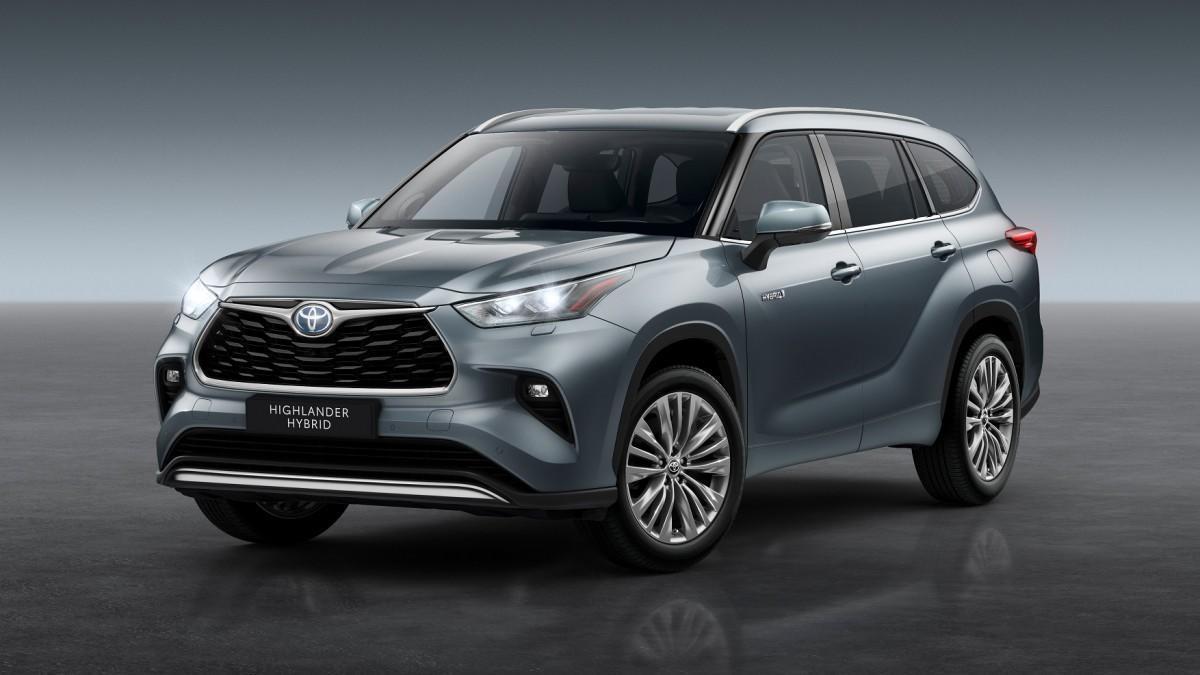 Toyota lanzará en Europa el SUV híbrido Highlander