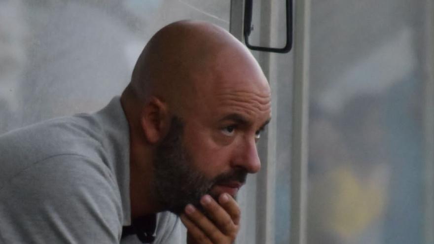 """David Movilla, entrenador del Zamora CF: """"El resultado refleja la superioridad del Cristo Atlético"""""""