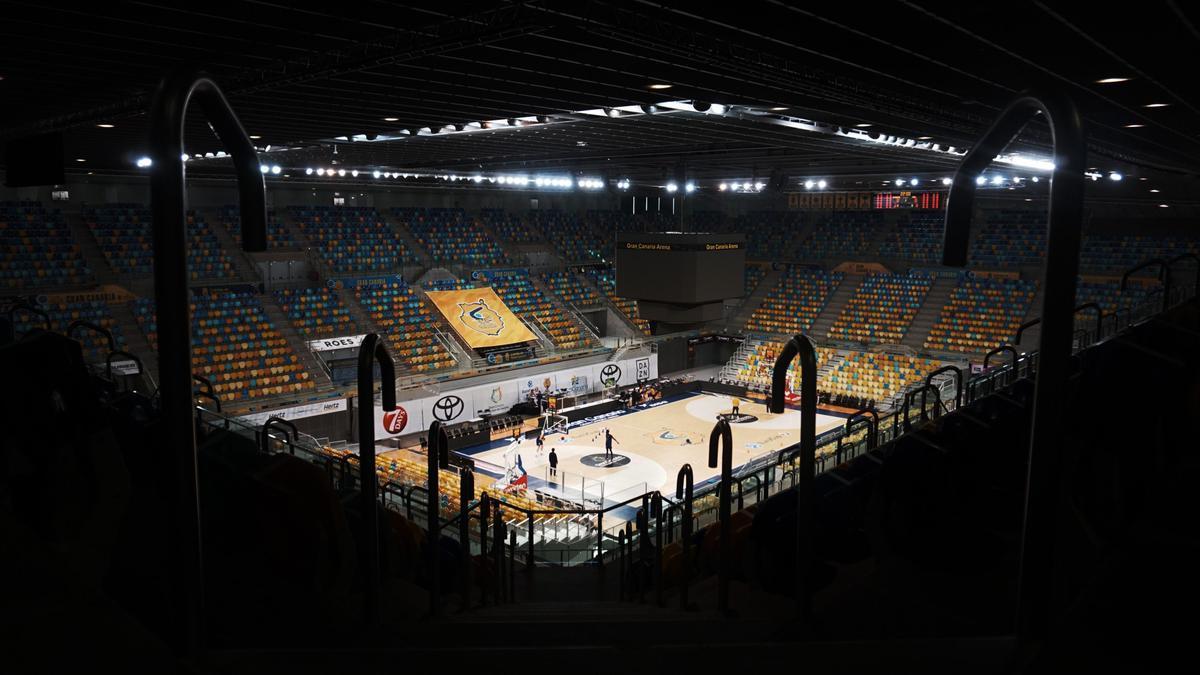 El Gran Canaria Arena vuelve a ser sede del Top 16 de Eurocup tres años después