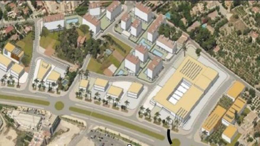 Sant Joan gana una nueva zona residencial, verde y comercial con el desarrollo del sector Avenida de Benidorm