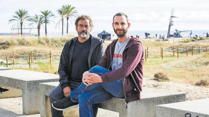 Fernández y Rovira, rescate en el mar