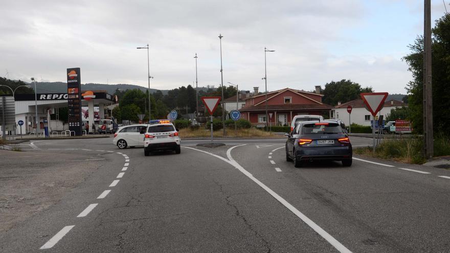 Las carreteras autonómicas de O Salnés mejoran en contaminación acústica