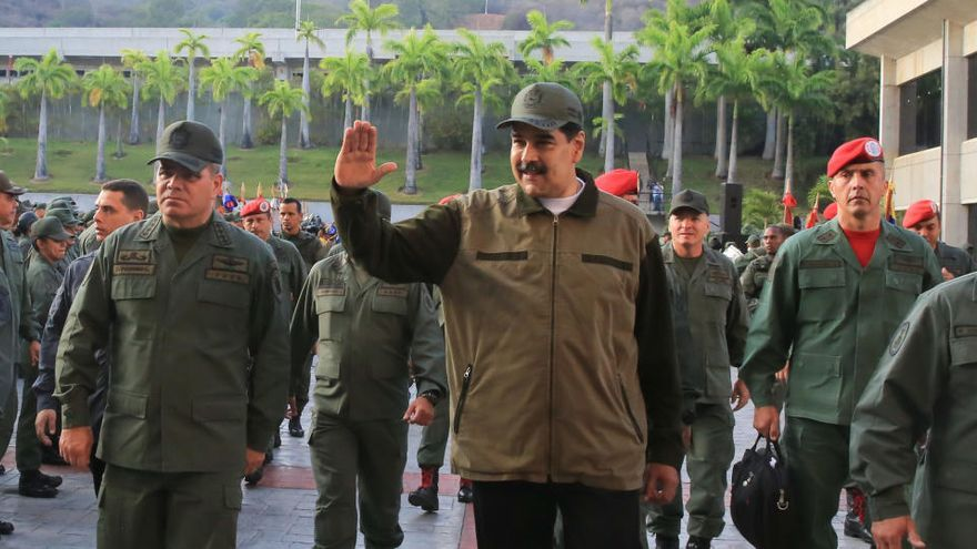 """El Club de los 35, los """"militares-empresarios"""" que escudan a Nicolás Maduro"""