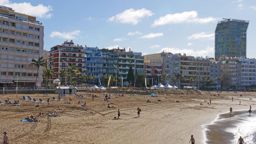 La ocupación turística en Semana Santa rondó como mucho un 40% en Canarias