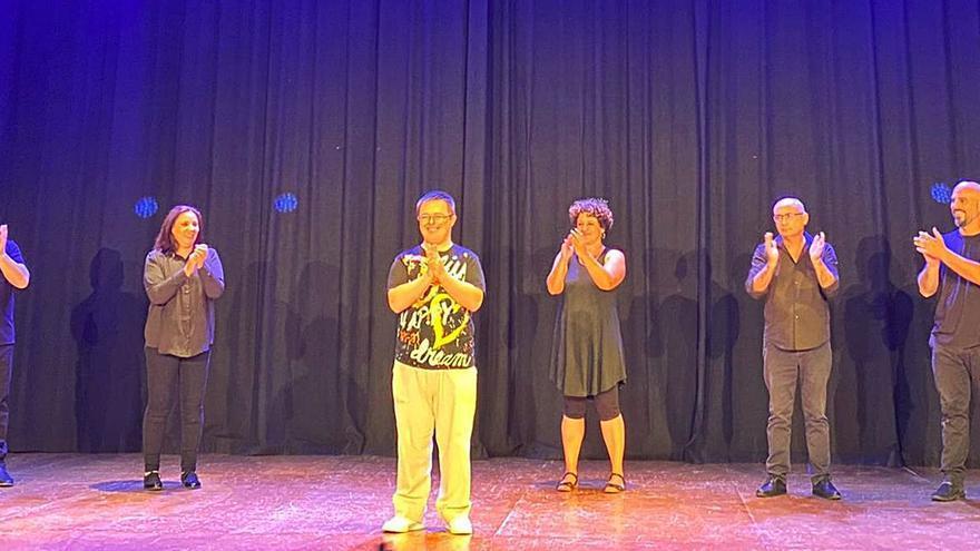 Una obra teatral inclusiva de la Safor  viajará a Pontevedra