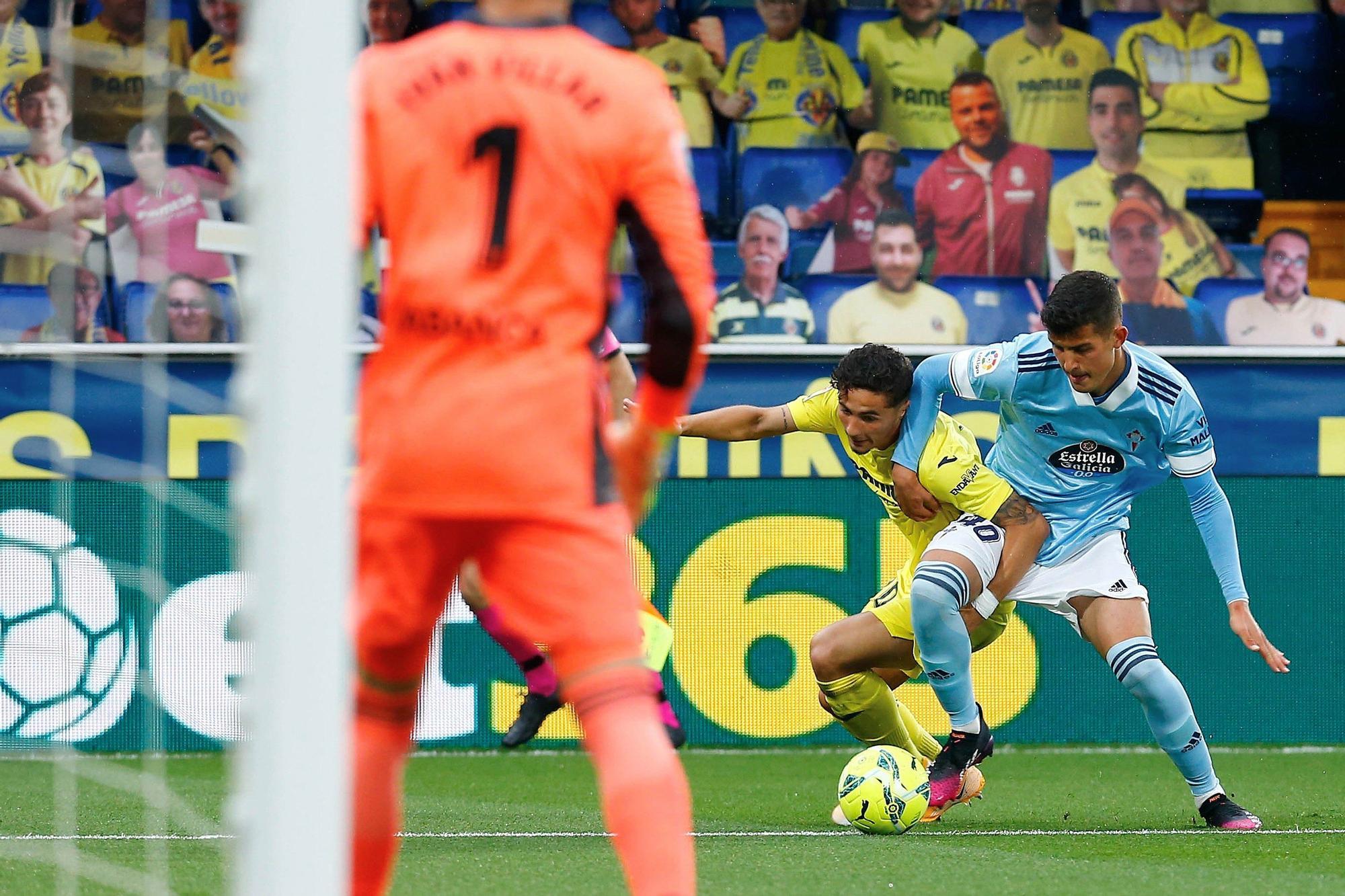 El Villarreal-Celta, en imágenes