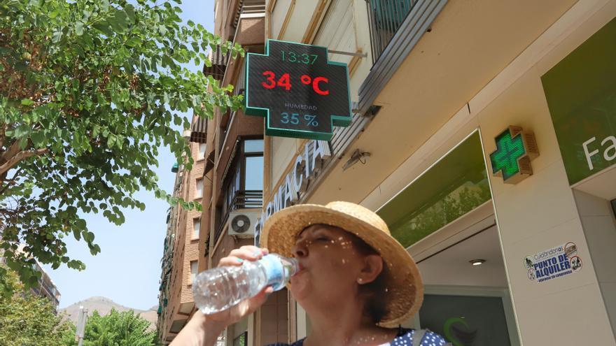 Un repunte de las temperaturas eleva los termómetros por encima de los 35 grados en el interior de la Vega Baja