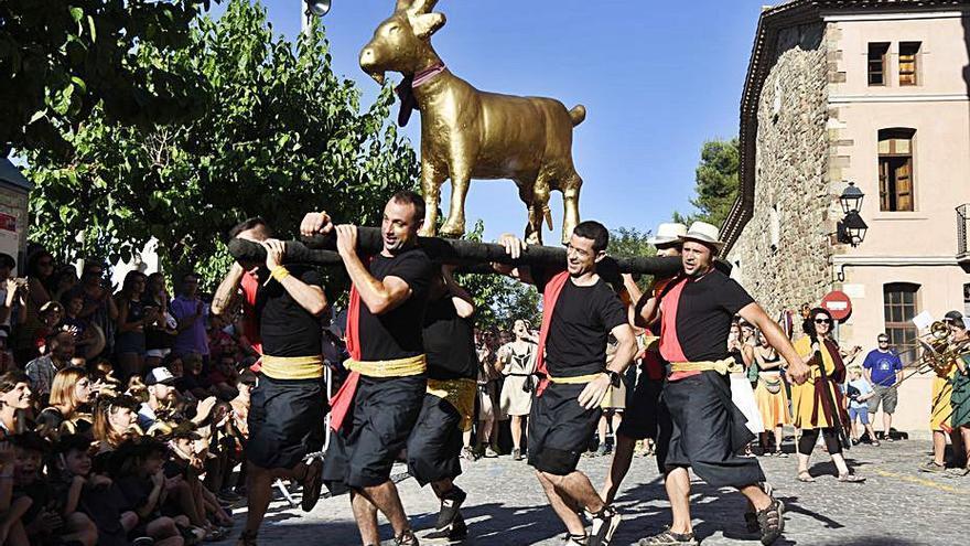 La Cabra d'Or obre avui el programa festiu de Moià