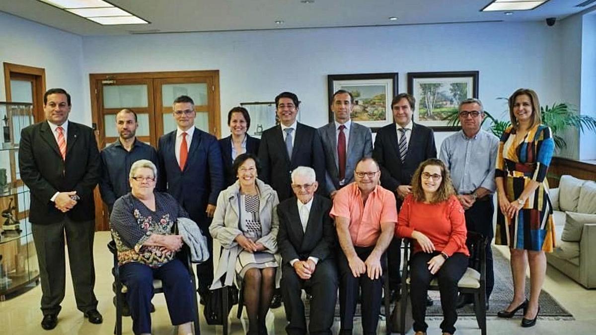Galardonados en la X edición del Premio Tenerife Rural. | | ANDRÉS GUTIÉRREZ