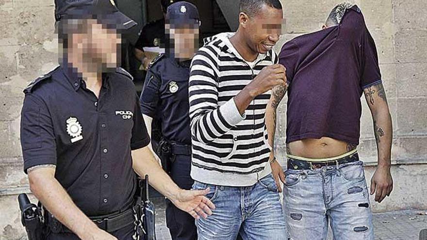 Detenidos dos colombianos por atropellar adrede a un compatriota en Palma