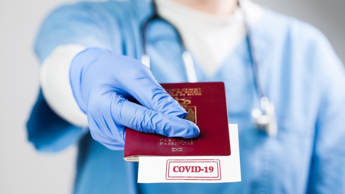 Pasaporte de vacunación.