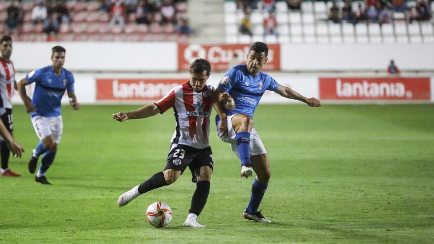 El Zamora CF sucumbe ante el acierto de la UD Logroñés (1-4)