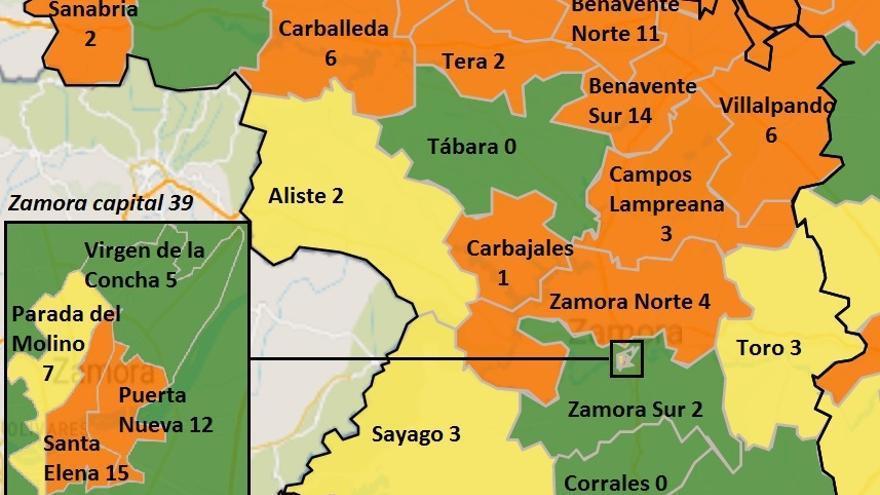 Carbajales se suma a las zonas básicas de salud con casos COVID de Zamora