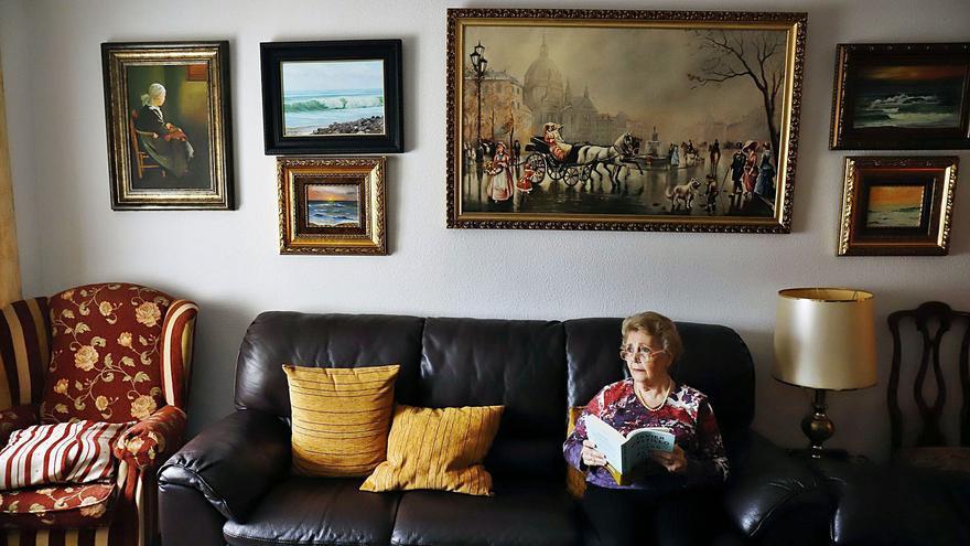 El aislamiento social y el miedo al contagio disparan el número de mayores que viven solos