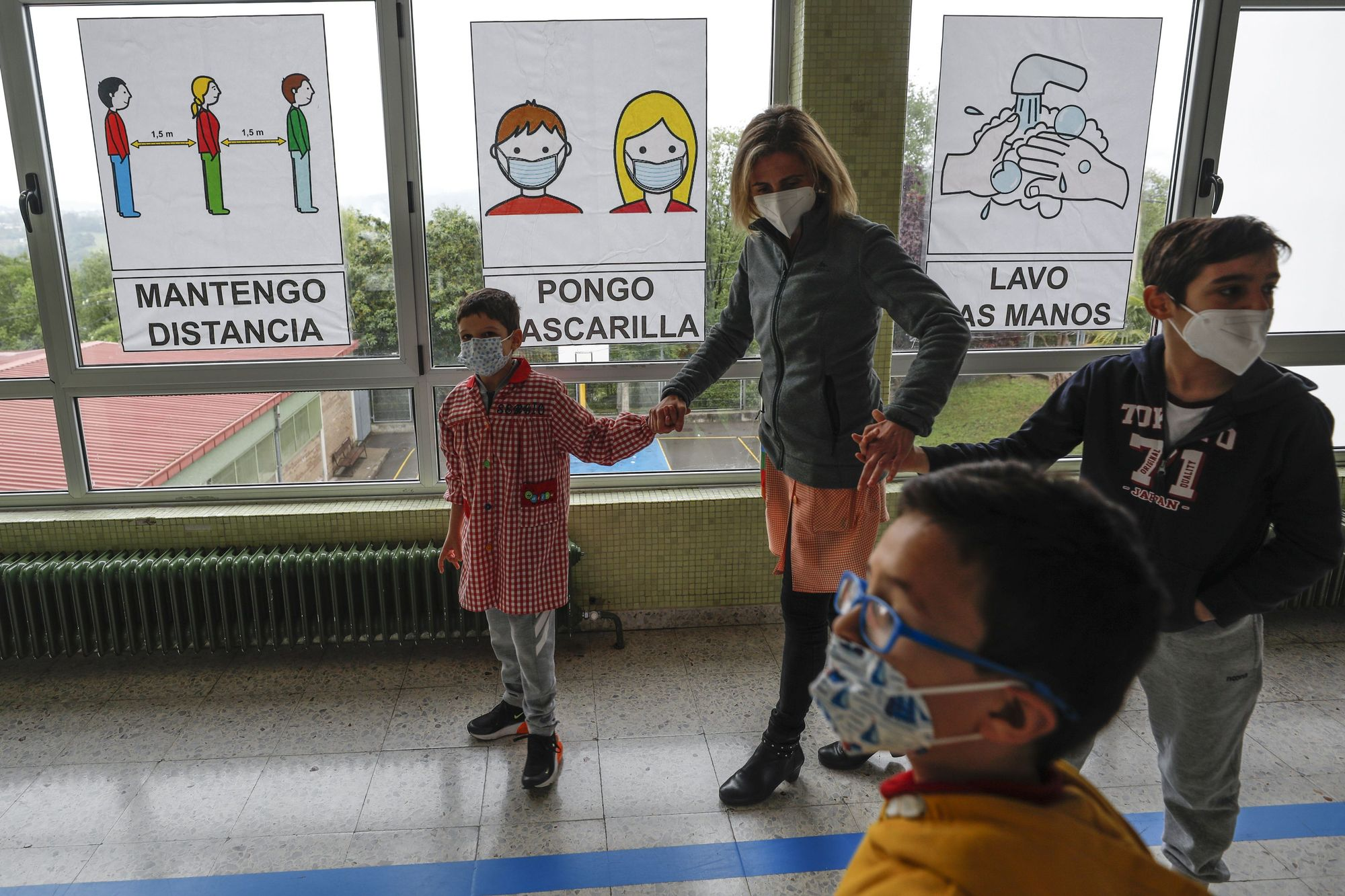 Un día en el colegio de educación especial de Latores