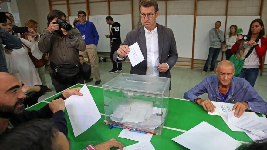 Feijóo conquista su tercera mayoría absoluta y En Marea supera al PSdeG