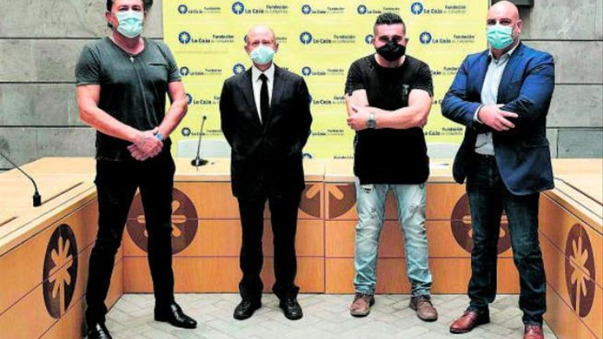 La Fundación La Caja de Canarias apoya a los terreros con 30.000 euros