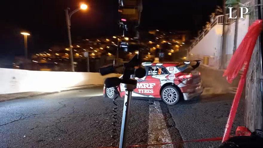 Tramo de Las Palmas de Gran Canaria en el Rally Islas Canarias