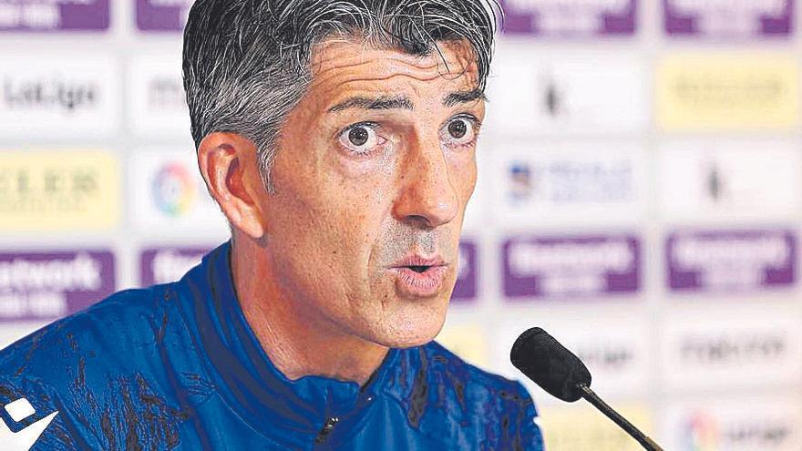 Imanol: «El Mallorca es un equipo muy valiente, será un partido difícil»