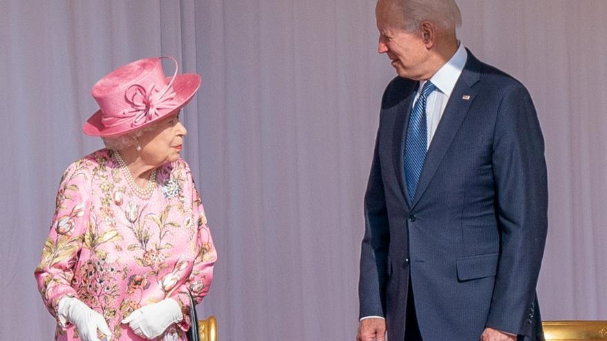 "Biden: ""La Reina Isabel II me recuerda a mi madre"""