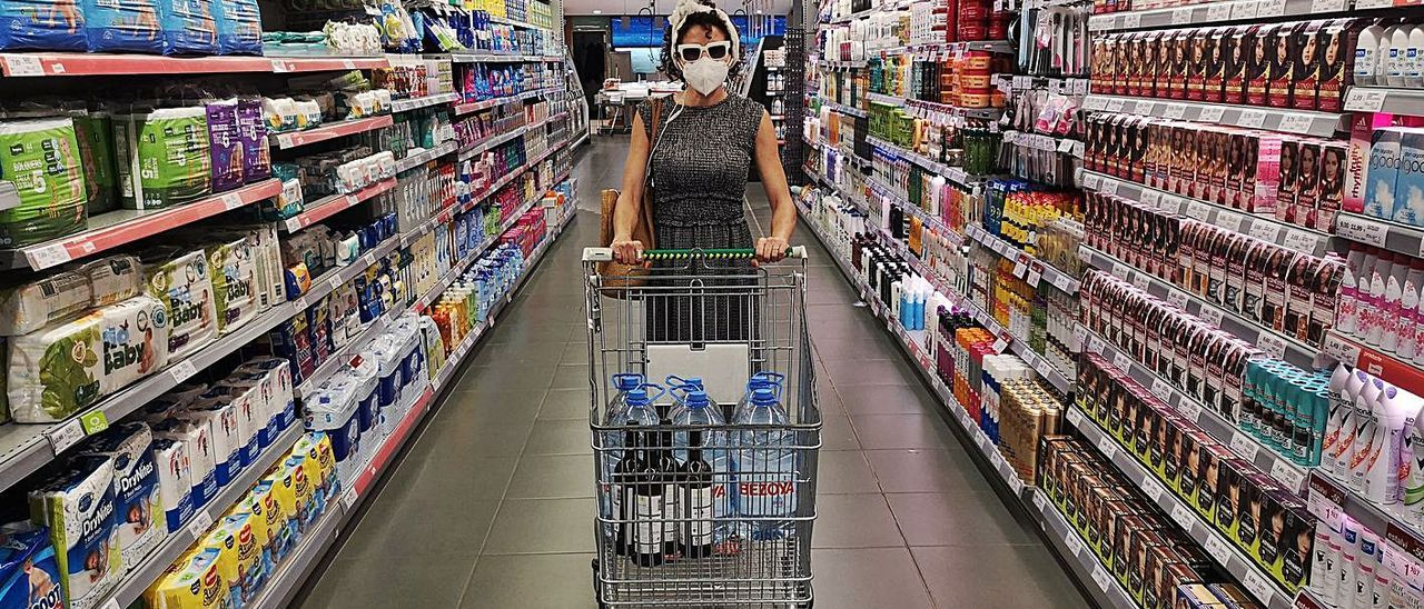 Imagen promocional de la audioguía para supermercados en tiempos de pandemia.