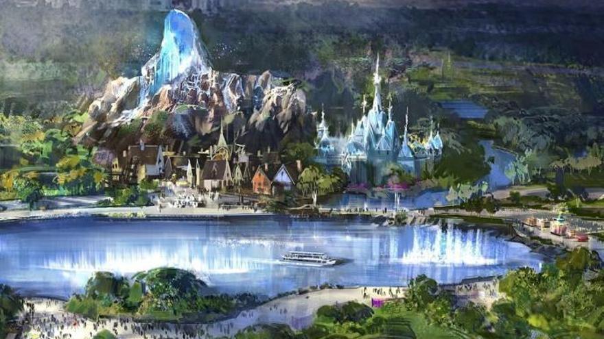 Así será la nueva zona de Disneyland París dedicada a Frozen