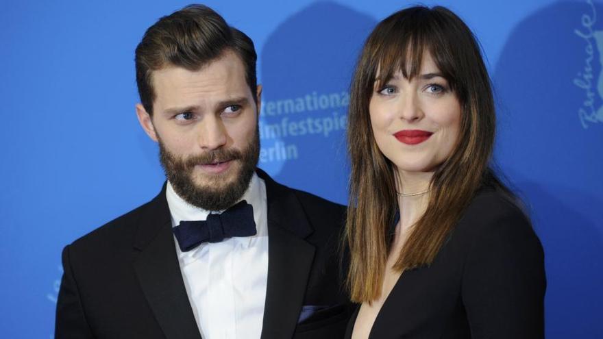 '50 sombras de Grey': Un cóctel romántico con 11 minutos de sexo