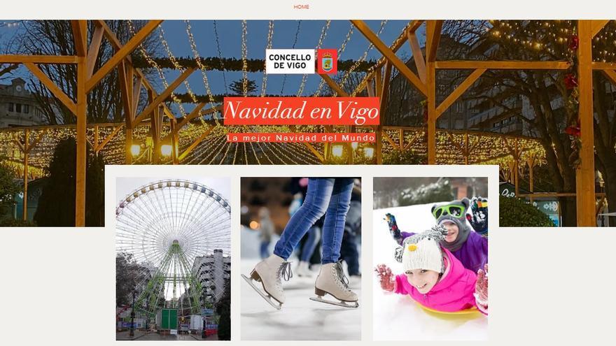 La Navidad en Vigo estrena web y redes sociales con polémica