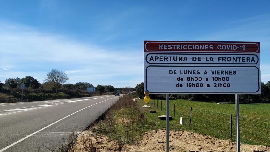 El Gobierno modifica el horario de paso por la frontera entre Miranda do Douro y Torregamones