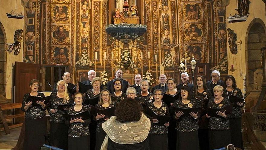 """""""O son da ribeira"""" recala en Muxía para unha homenaxe musical á Virxe da Barca"""