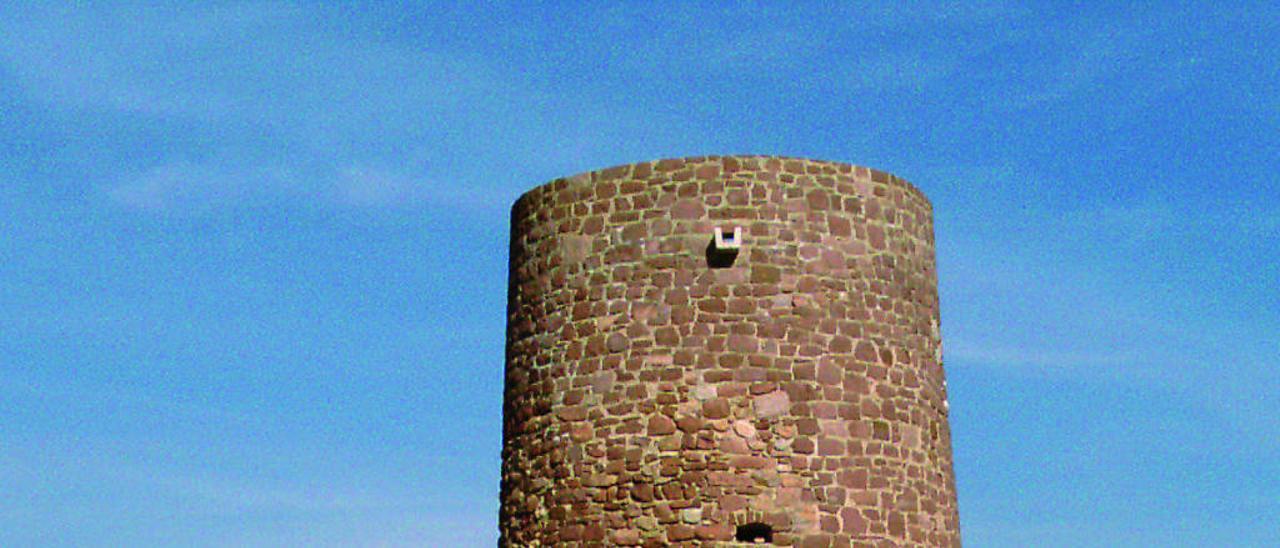 La torre del Puig tras su rehabilitación.