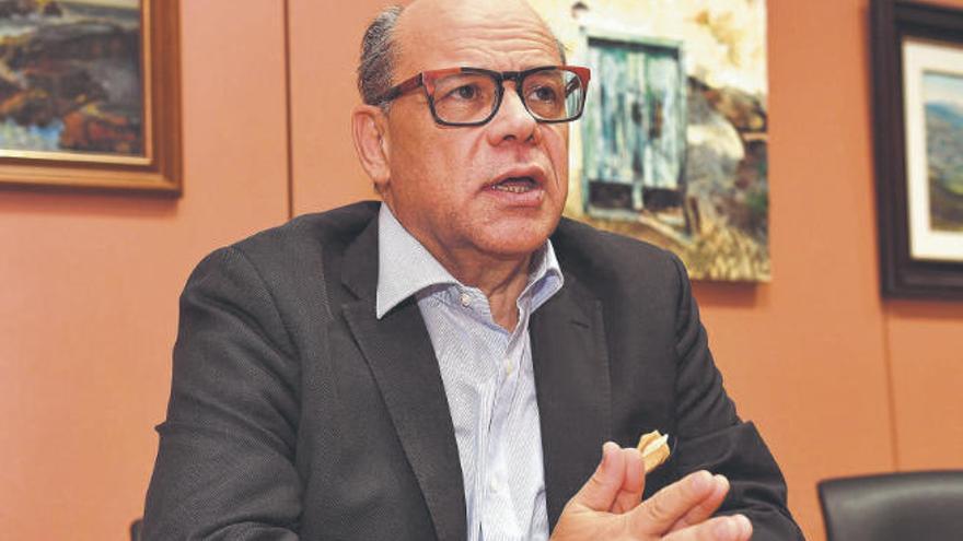 """""""El Gobierno de Canarias es flojo y la gente empieza a desmoralizarse"""""""