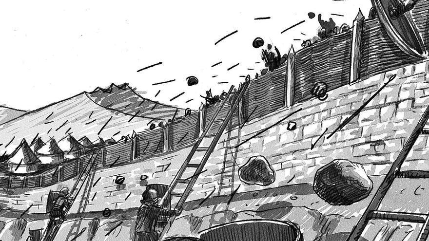"""Pintaius, un """"l.lenizu"""" na lexón romana: historiadores sostienen que l'astur, que lluchó col exércitu imperial, nació en Zurea"""